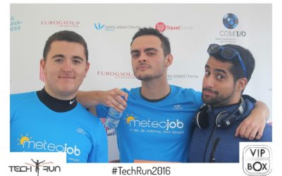 La CleverTeam court à la Tech Run !