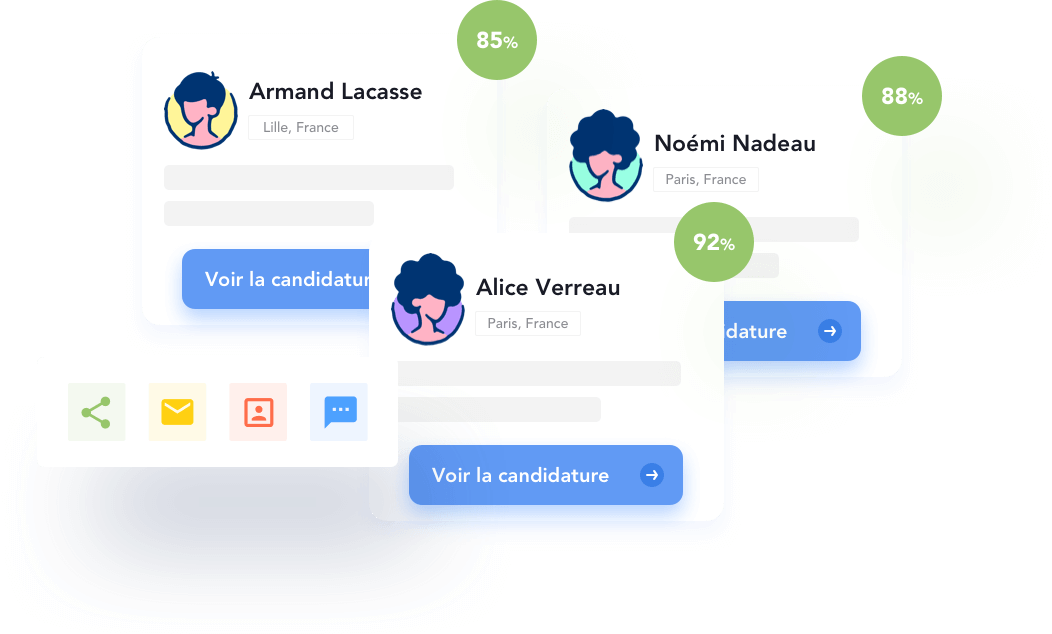 Optimisation de vivier et scoring de candidatures